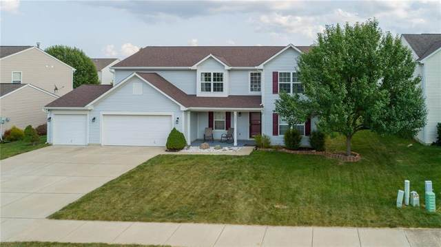 12021 Raiders Boulevard, Fishers, IN 46037 (MLS #21735151) :: Mike Price Realty Team - RE/MAX Centerstone