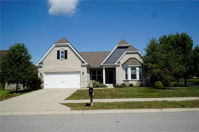 7026 W Water Fall Way, Greenfield, IN 46140 (MLS #21735169) :: Mike Price Realty Team - RE/MAX Centerstone