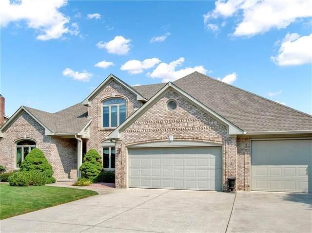 4562 Runyon Deer Lane, Greenwood, IN 46142 (MLS #21735259) :: Anthony Robinson & AMR Real Estate Group LLC
