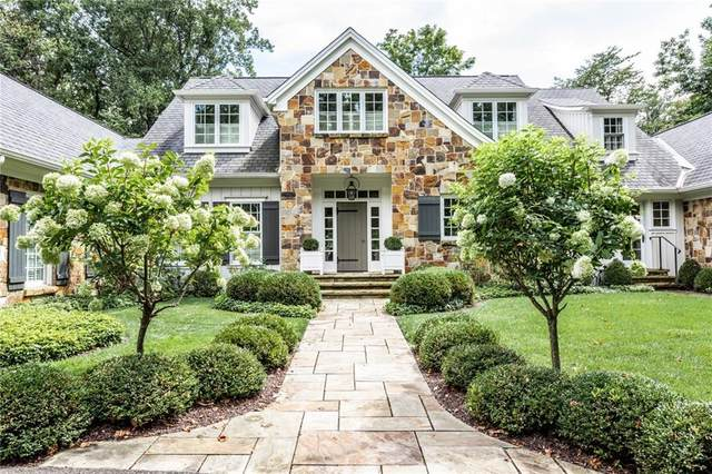 575 Somerset Drive W, Indianapolis, IN 46260 (MLS #21735297) :: Richwine Elite Group