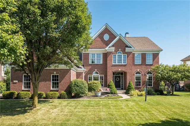 11848 E Floral Hall Place Place, Fishers, IN 46037 (MLS #21735353) :: Mike Price Realty Team - RE/MAX Centerstone