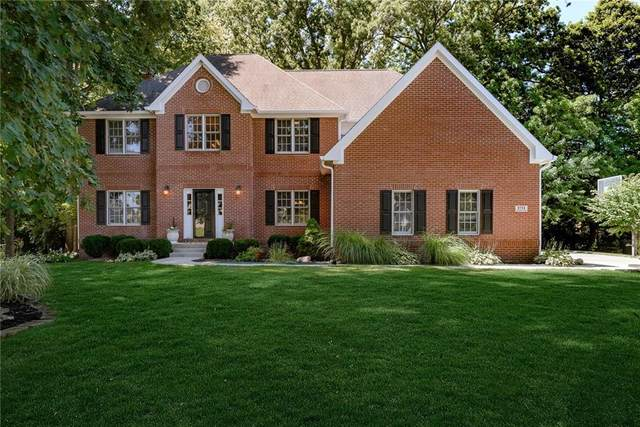9706 Woodlands Drive, Fishers, IN 46037 (MLS #21735441) :: Mike Price Realty Team - RE/MAX Centerstone