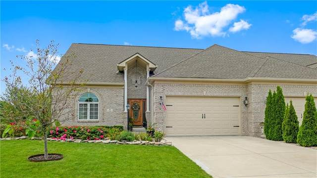 1161 Wyndham Way, Greenwood, IN 46142 (MLS #21735570) :: Mike Price Realty Team - RE/MAX Centerstone