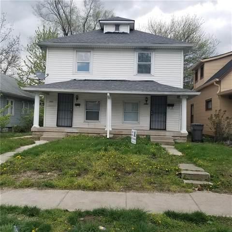 1313 N Olney Street, Indianapolis, IN 46201 (MLS #21735582) :: David Brenton's Team