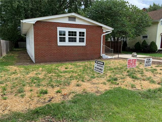 1025 S Roena Street, Indianapolis, IN 46241 (MLS #21735719) :: Anthony Robinson & AMR Real Estate Group LLC