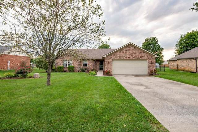 4184 S Kelly Drive, New Palestine, IN 46163 (MLS #21735761) :: Dean Wagner Realtors