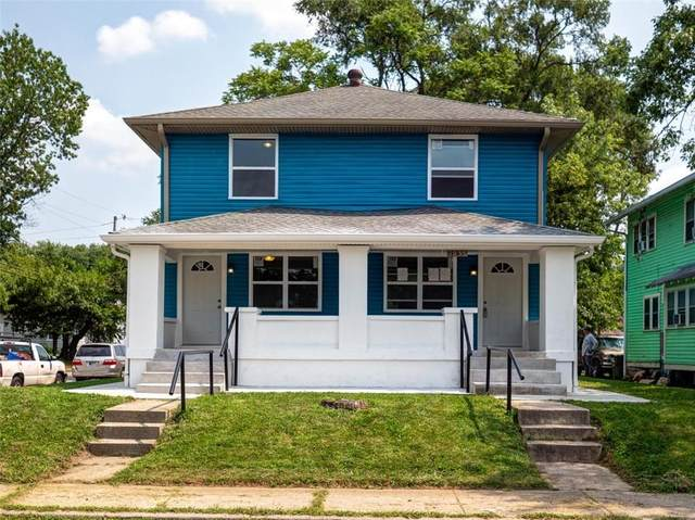 1035-1037 N Dearborn Street, Indianapolis, IN 46201 (MLS #21735823) :: Mike Price Realty Team - RE/MAX Centerstone