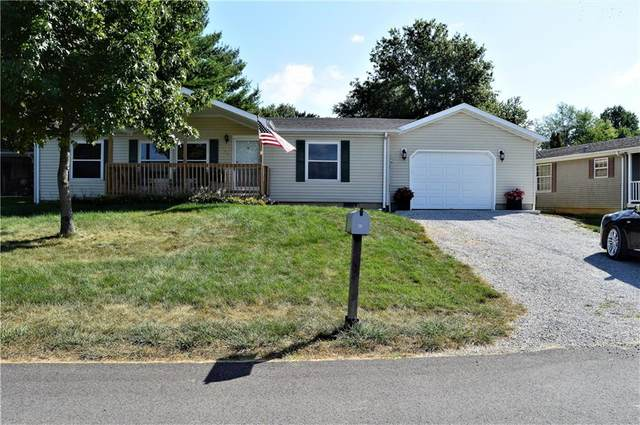 419 Dream Way, Cloverdale, IN 46120 (MLS #21735891) :: David Brenton's Team