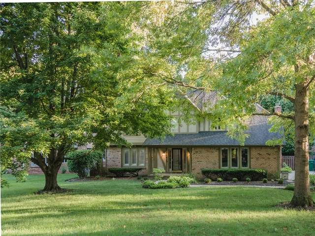 7483 Runningbrook Court, Indianapolis, IN 46254 (MLS #21735914) :: Anthony Robinson & AMR Real Estate Group LLC