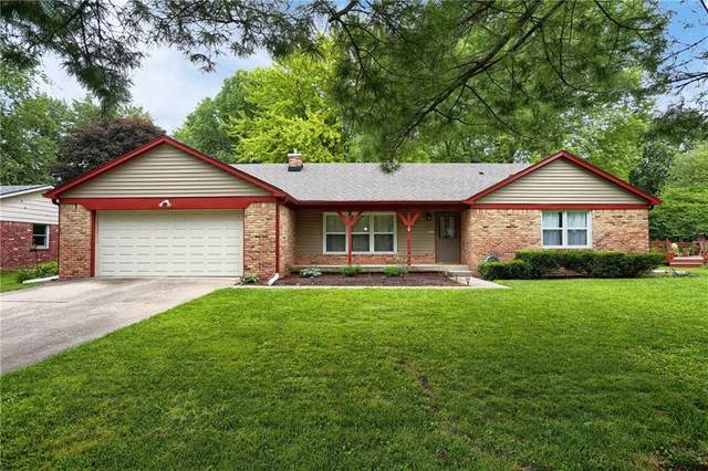 3110 Lehigh Court, Indianapolis, IN 46268 (MLS #21735922) :: Mike Price Realty Team - RE/MAX Centerstone