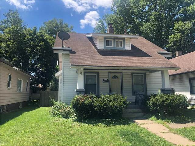 705 W 32ND Street, Indianapolis, IN 46208 (MLS #21735947) :: David Brenton's Team