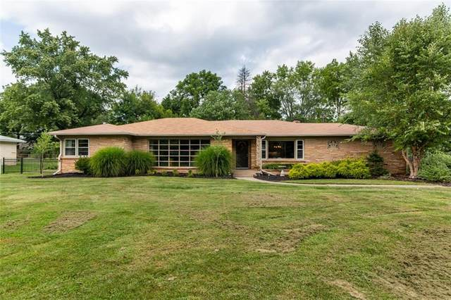 520 Rainbow Lane, Indianapolis, IN 46260 (MLS #21736027) :: Mike Price Realty Team - RE/MAX Centerstone