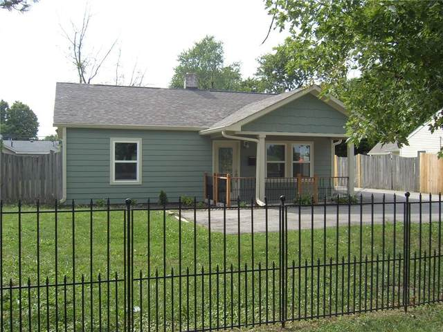 2822 S Keystone Avenue, Indianapolis, IN 46203 (MLS #21736088) :: Anthony Robinson & AMR Real Estate Group LLC