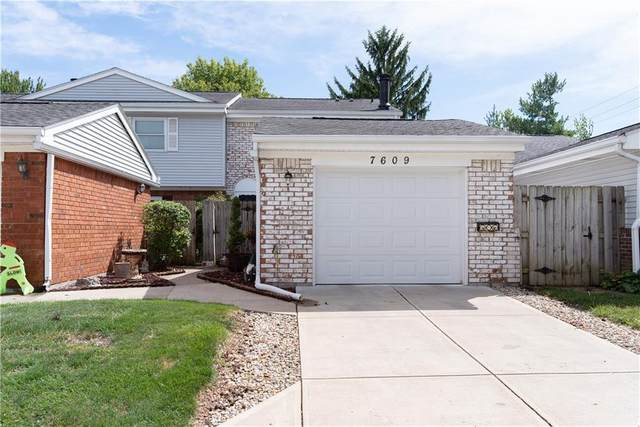 7609 Vintage Court, Lawrence, IN 46226 (MLS #21736201) :: Mike Price Realty Team - RE/MAX Centerstone