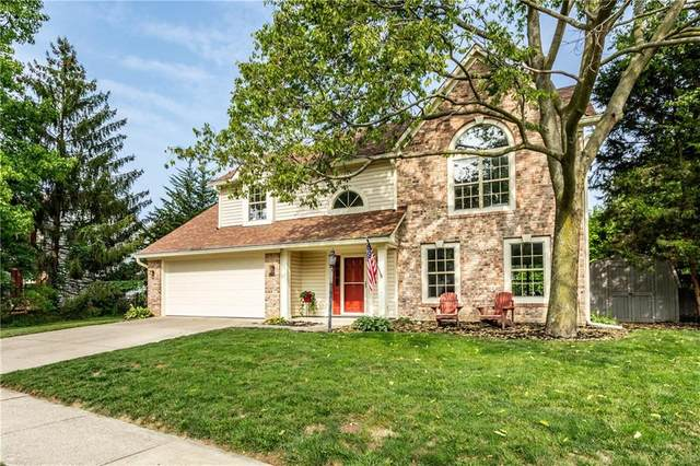12388 Torberg Place, Fishers, IN 46038 (MLS #21736407) :: Mike Price Realty Team - RE/MAX Centerstone