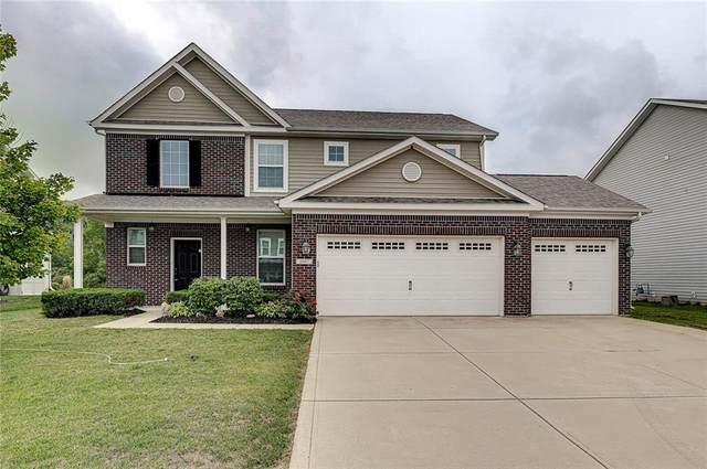 6047 Chestnut Eagle Drive, Zionsville, IN 46077 (MLS #21736447) :: Dean Wagner Realtors