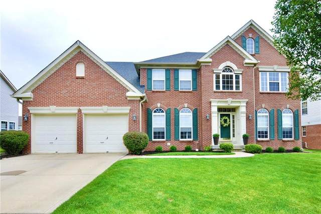 10370 Aurora Court, Fishers, IN 46038 (MLS #21736582) :: The ORR Home Selling Team