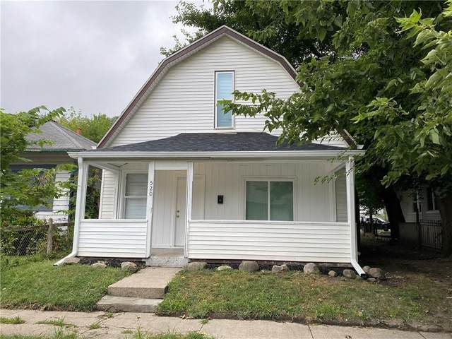 520 N Gladstone Avenue, Indianapolis, IN 46201 (MLS #21736666) :: AR/haus Group Realty