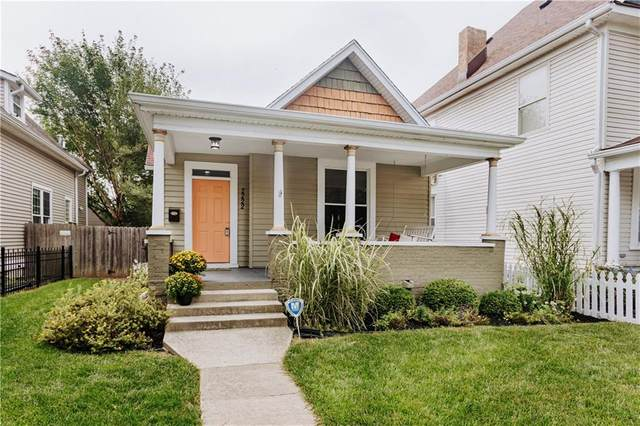 2222 N Talbott Street, Indianapolis, IN 46205 (MLS #21736850) :: Mike Price Realty Team - RE/MAX Centerstone