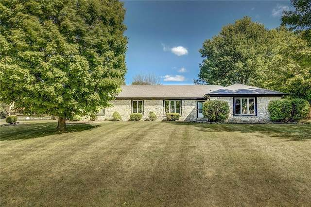 7110 W Meadows Lane, Greenfield, IN 46140 (MLS #21736883) :: AR/haus Group Realty