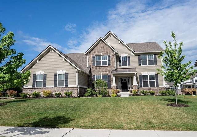 5439 Lake Station Lane, Noblesville, IN 46062 (MLS #21736889) :: Mike Price Realty Team - RE/MAX Centerstone