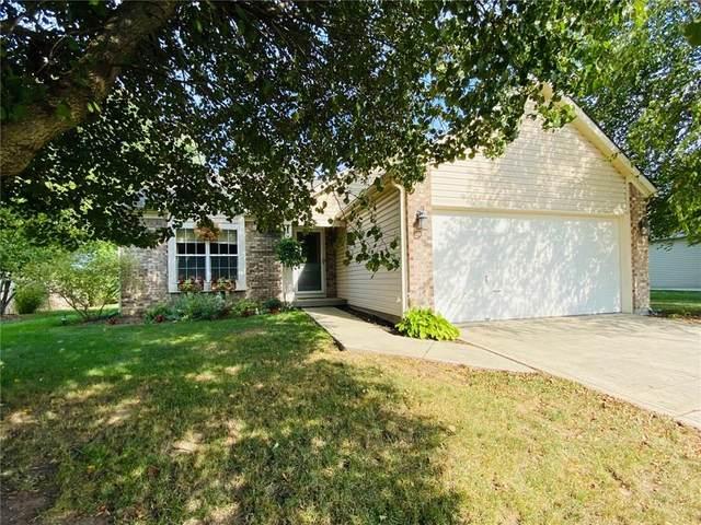 1075 Thornwood Drive, Greenwood, IN 46143 (MLS #21736916) :: David Brenton's Team