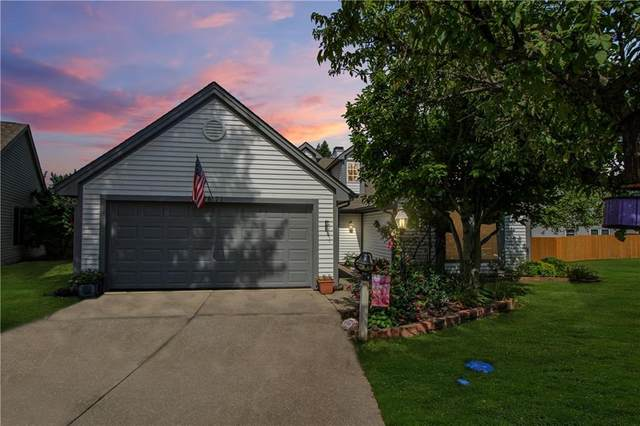 7871 Sand Shoal Court, Indianapolis, IN 46236 (MLS #21737010) :: Anthony Robinson & AMR Real Estate Group LLC