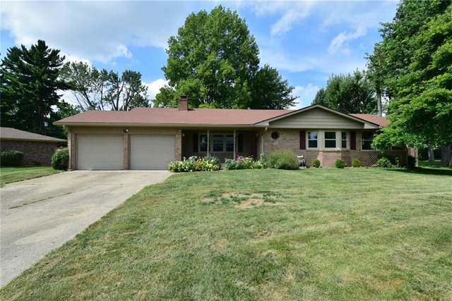 606 Sulky Court, Indianapolis, IN 46227 (MLS #21737028) :: Mike Price Realty Team - RE/MAX Centerstone