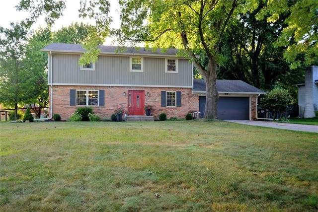 566 Poplar Drive, Greenwood, IN 46142 (MLS #21737065) :: Mike Price Realty Team - RE/MAX Centerstone