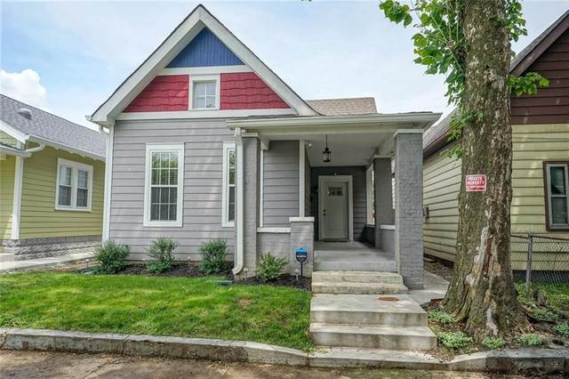 1301 Hartford Street, Indianapolis, IN 46203 (MLS #21737070) :: Mike Price Realty Team - RE/MAX Centerstone