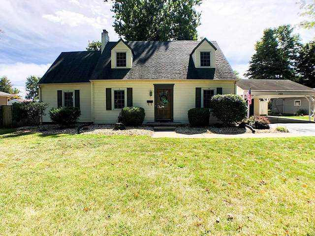 1505 Laurel Drive, Columbus, IN 47203 (MLS #21737107) :: Mike Price Realty Team - RE/MAX Centerstone