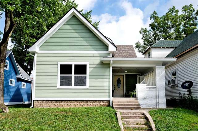 524 Iowa Street, Indianapolis, IN 46203 (MLS #21737158) :: The ORR Home Selling Team
