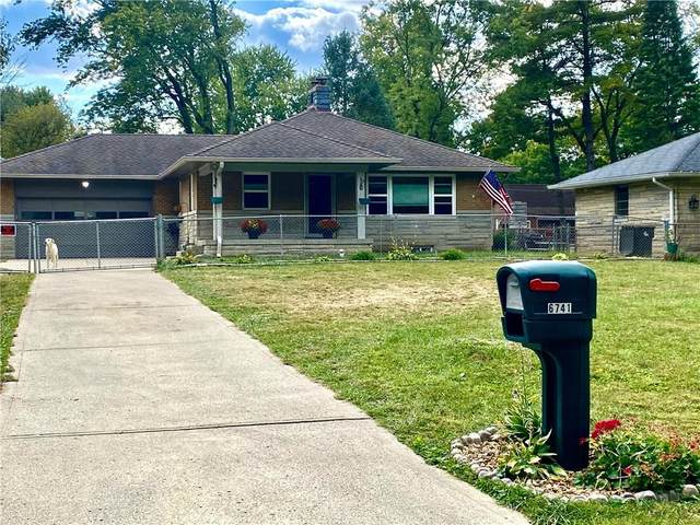 6741 E 13th, Indianapolis, IN 46219 (MLS #21737165) :: Mike Price Realty Team - RE/MAX Centerstone