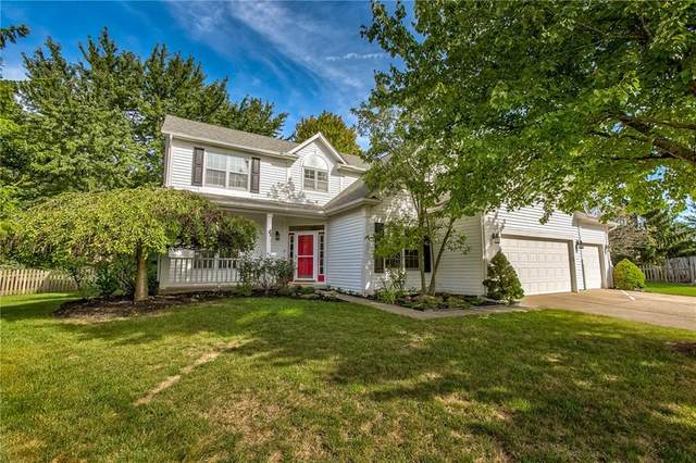 10058 Kingston Court, Fishers, IN 46037 (MLS #21737267) :: Anthony Robinson & AMR Real Estate Group LLC
