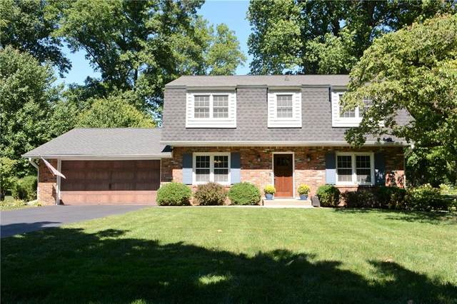 2850 Lakewood Drive N, Carmel, IN 46280 (MLS #21737287) :: Mike Price Realty Team - RE/MAX Centerstone