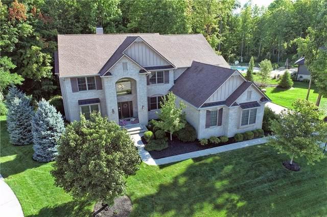 14726 Geist Ridge Drive, Fishers, IN 46040 (MLS #21737350) :: David Brenton's Team