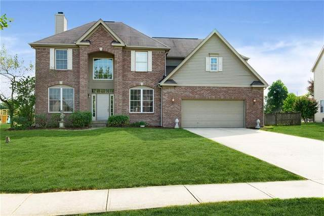 8805 Weather Stone Crossing, Zionsville, IN 46074 (MLS #21737387) :: Dean Wagner Realtors