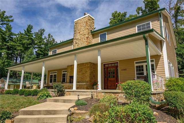 2265 Skyline Drive, Nashville, IN 47448 (MLS #21737405) :: Mike Price Realty Team - RE/MAX Centerstone