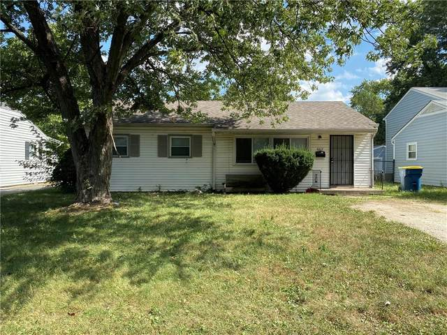 4613 Woodcroft Avenue, Lawrence, IN 46266 (MLS #21737472) :: The ORR Home Selling Team