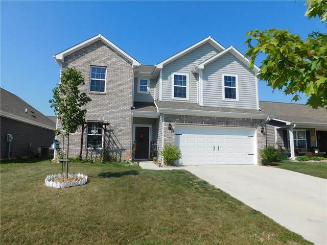 2434 Bristol Drive, Franklin, IN 46131 (MLS #21737498) :: Mike Price Realty Team - RE/MAX Centerstone