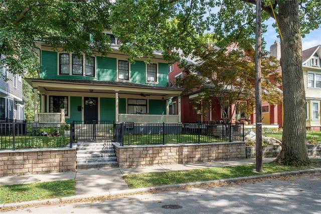 2021 N New Jersey Street, Indianapolis, IN 46202 (MLS #21737530) :: Dean Wagner Realtors