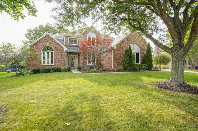 14015 Springmill Ponds Circle, Carmel, IN 46032 (MLS #21737604) :: Mike Price Realty Team - RE/MAX Centerstone