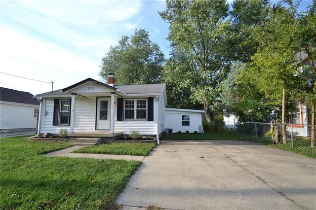 318 Tague Street, Greenfield, IN 46140 (MLS #21737623) :: Mike Price Realty Team - RE/MAX Centerstone