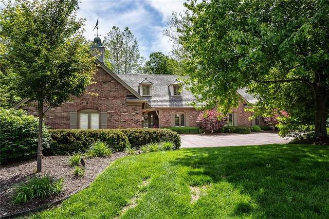 8621 Williamshire West Drive, Indianapolis, IN 46260 (MLS #21737664) :: Richwine Elite Group