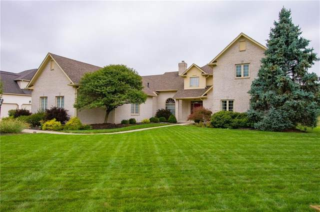 10876 Hamilton Pass, Fishers, IN 46037 (MLS #21737730) :: Richwine Elite Group