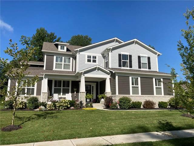 3476 Conifer Drive, Zionsville, IN 46077 (MLS #21737771) :: Mike Price Realty Team - RE/MAX Centerstone