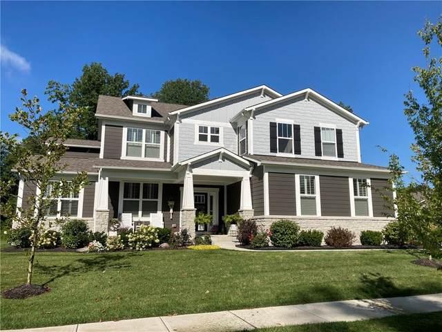 3476 Conifer Drive, Zionsville, IN 46077 (MLS #21737771) :: Richwine Elite Group