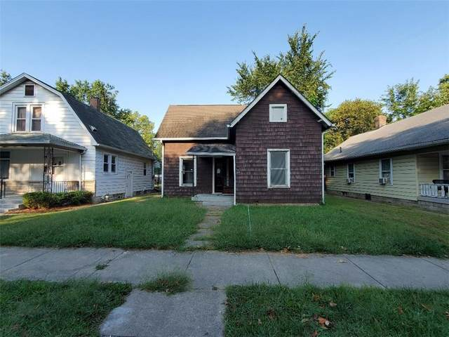 328 S Grand Avenue, Indianapolis, IN 46219 (MLS #21737844) :: David Brenton's Team