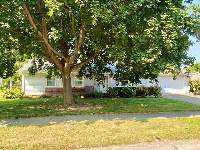 1501 Woodbine Drive, Anderson, IN 46011 (MLS #21737858) :: Dean Wagner Realtors