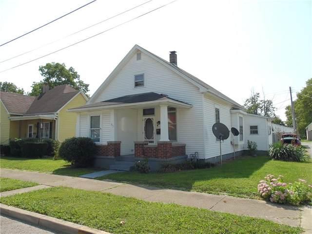 35 Mildred Street, Shelbyville, IN 46176 (MLS #21737888) :: David Brenton's Team